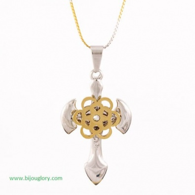 pendants and chains, pendants made of steel, CROSS.stainless steel pendant