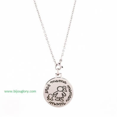 pendants and chains, pendants made of steel, stainless steel pendant